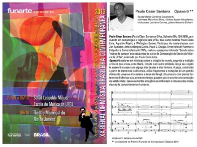 XX Bienal de Musica Contemporanea